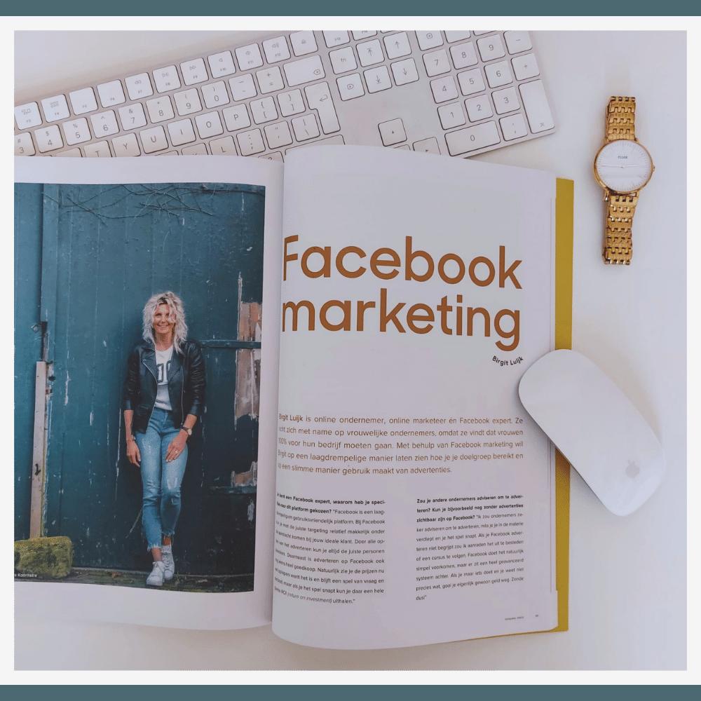 Magazine Social Mag - Facebook marketing met birgit luijk